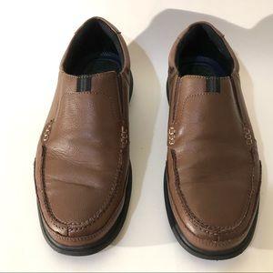 Nunn Bush Mens 8.5 Brown Casual Slip On Loafers